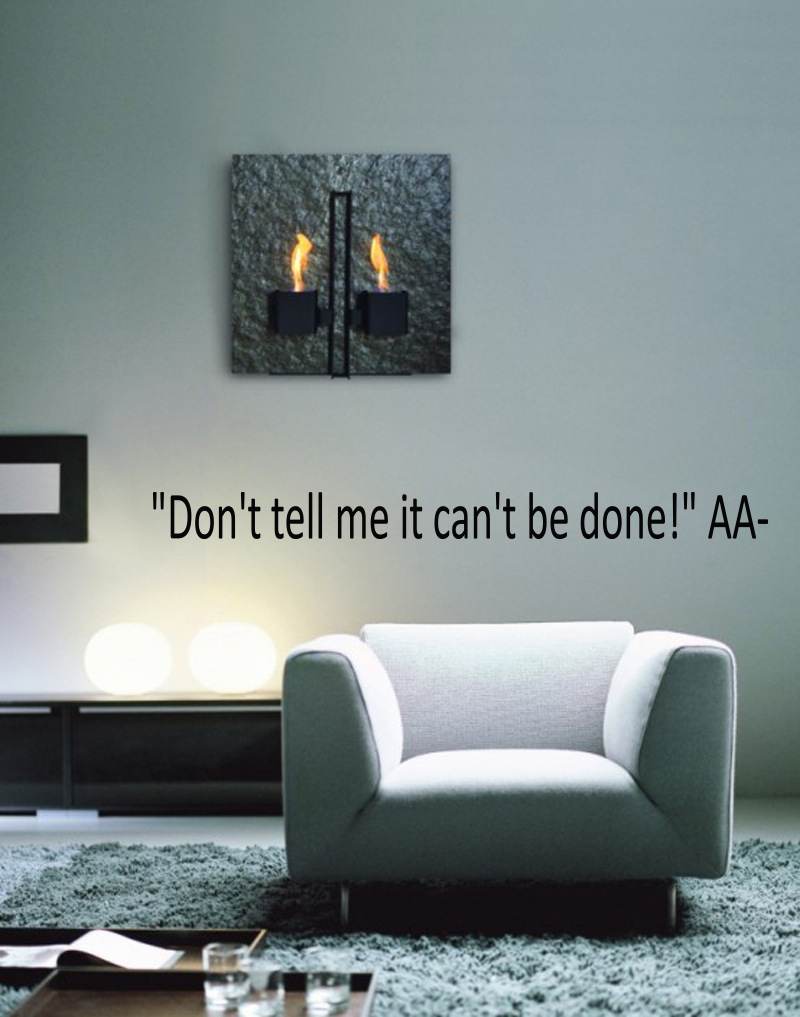 Don't Tell Me Can't Be Done Wall Decals