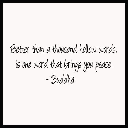 One Word Peace Wall Decals