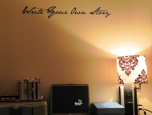 Write Your Own Story Wall Decal