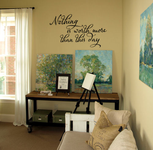 Nothing Worth Day | Wall Decals