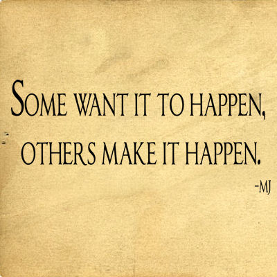 Some Want It To Happen Wall Decals