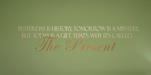 The Present Decal