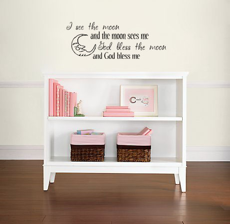 I See The Moon | Wall Decals