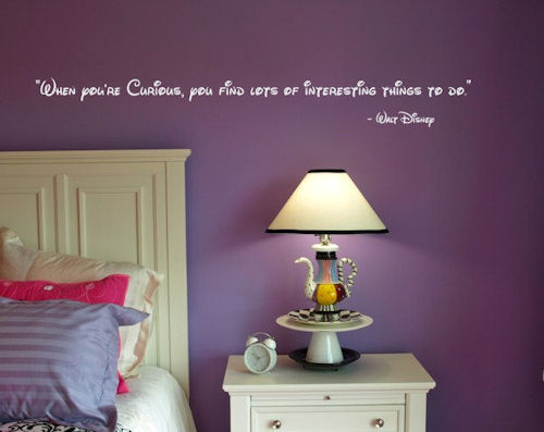 Curious Interesting Things Wall Decals