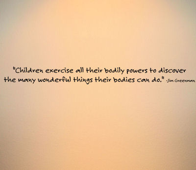 Children Exercise II Wall Decals