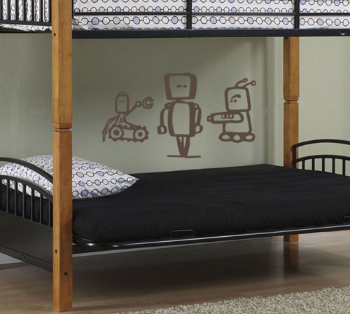 Robot Pack Wall Decals