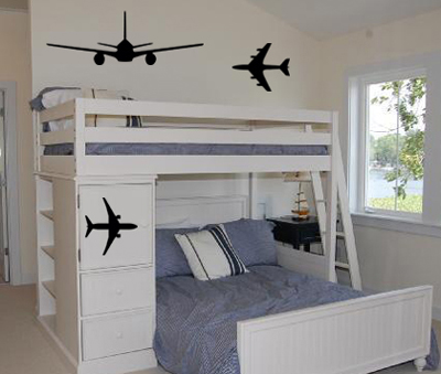 Airplane Pack Wall Decals
