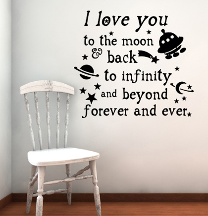 Love You Infinity And Beyond