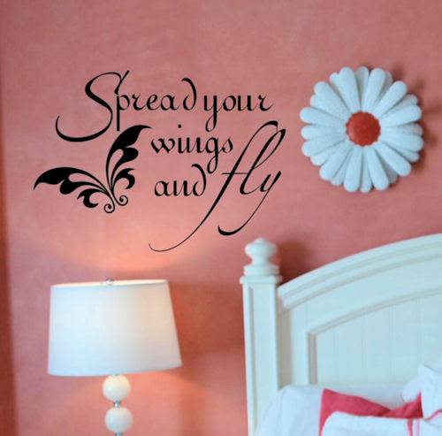 Spread Your Wings Wall Decals