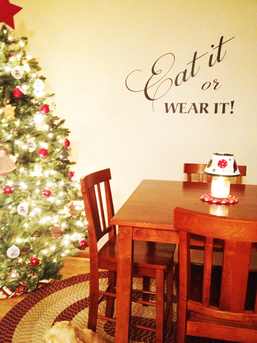 Eat It Or Wear It Wall Decal