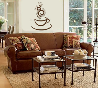 Steamy Coffee II Wall Decal