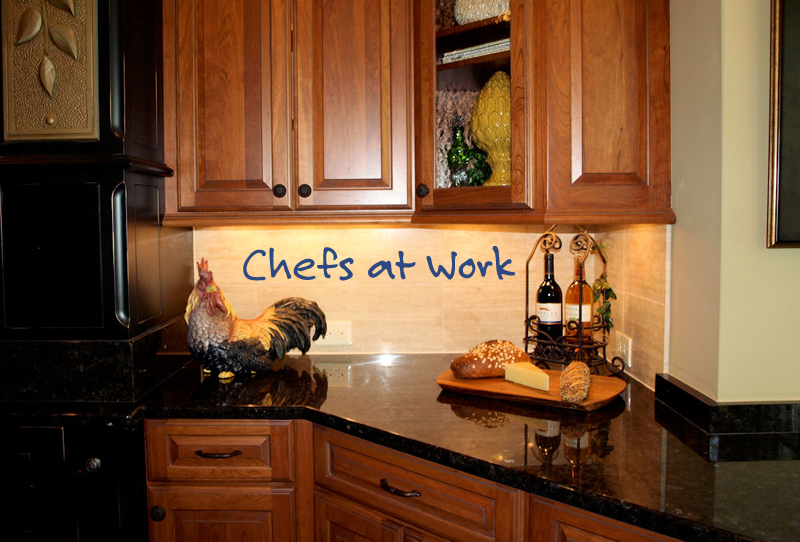 Chefs At Work Wall Decal