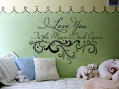 To the Moon | Wall Decal