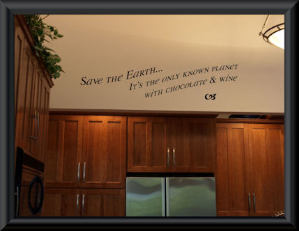 Save The Earth Wall Decals