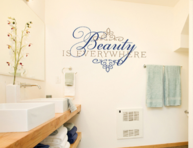 Beauty is Everywhere | Wall Decals