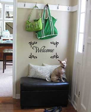 Welcome | Wall Decals