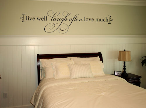 Live Well | Wall Decal