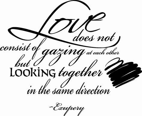 Love Does Not Consist | Wall Decal