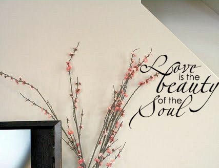 Love Beauty Soul | Wall Decal