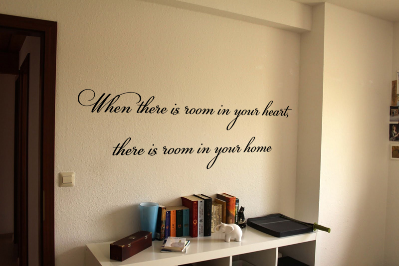 Room In Your Heart Home Wall Decal