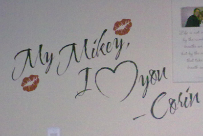 I Heart You   Wall Decal