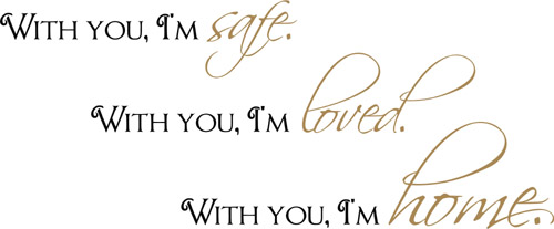 With You | Wall Decal