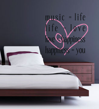 Equals Larger | Wall Decal