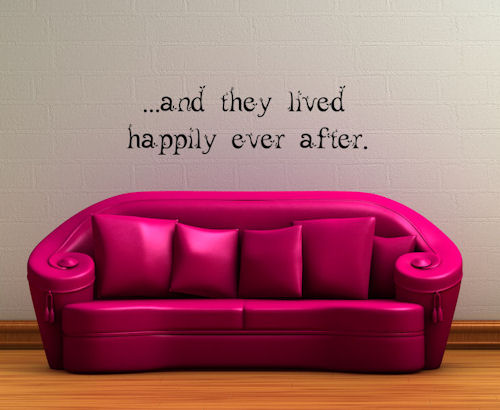Leaf Happily Ever After Wall Decals