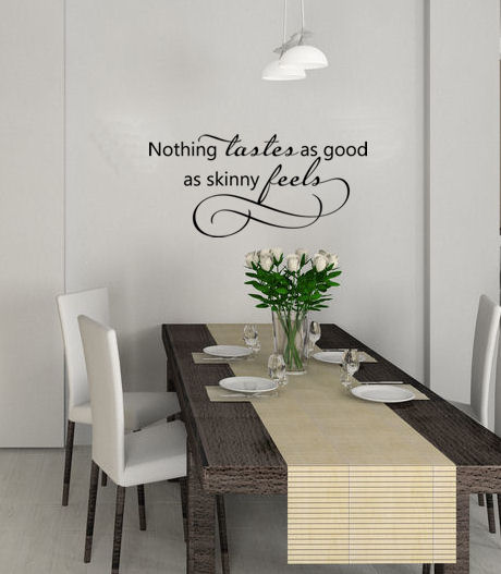 Skinny Feels | Wall Decals