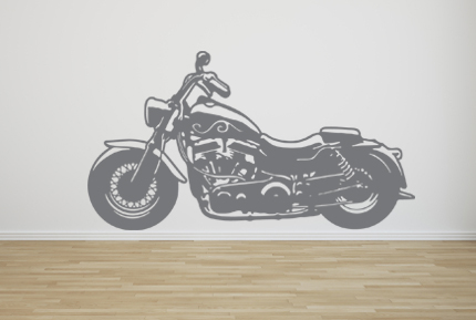 Motorcycle Wall Decals
