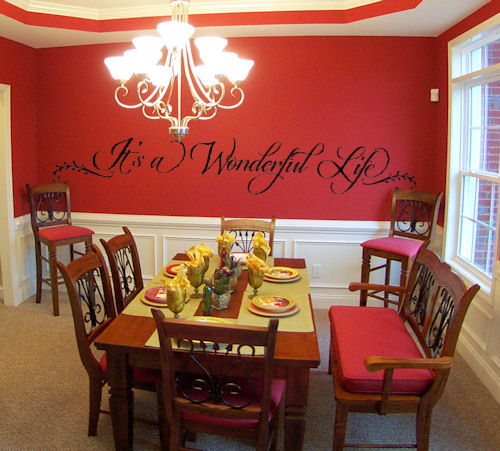 Wonderful Life Wall Decal