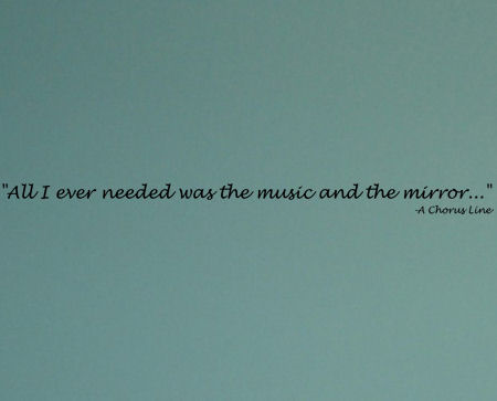 All I Ever Needed Music Wall Decals