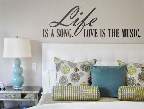 Life is a Song Decal