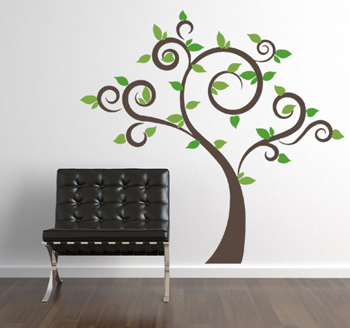 Season Trees Wall Decal