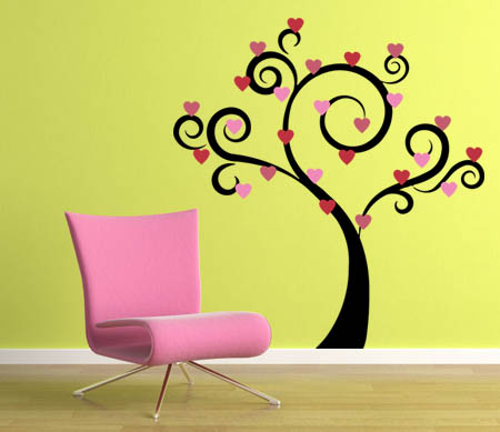 Holiday Trees-Extra Leaves Wall Decal
