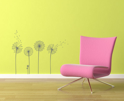 Dandelion Set Wall Decal
