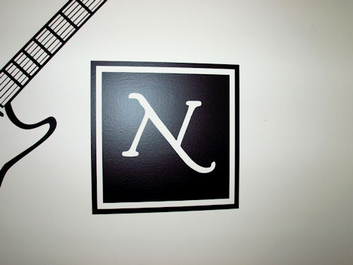 Block Monogram Wall Decal