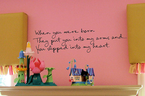 When You Were Born Wall Decals