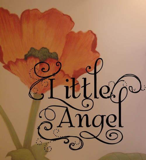 Little Angel Wall Decals