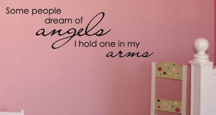 Dream of Angels Wall Decals