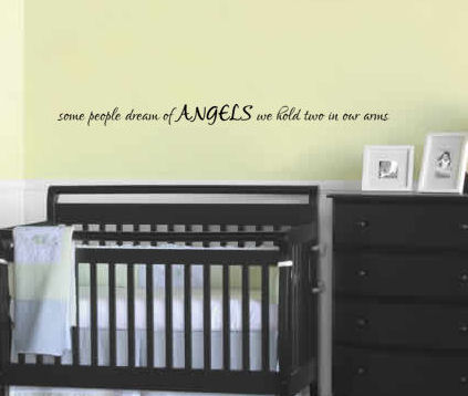 Angels We Hold Two Wall Decals