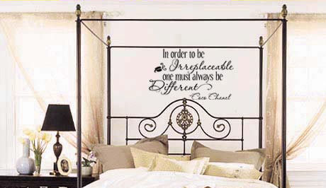 One Must Be Different Wall Decal
