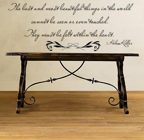 Helen Keller Quote | Wall Decals