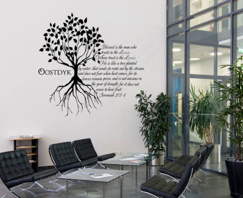 Jeremiah Tree Wall Decal