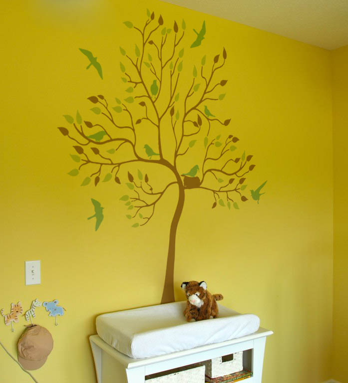 Nest Tree Wall Decal