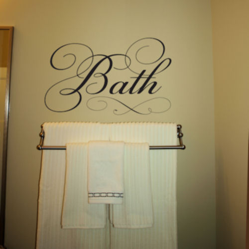 Bath Wall Decal