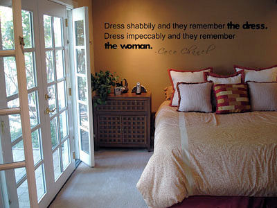 Dress Impeccably | Wall Decals