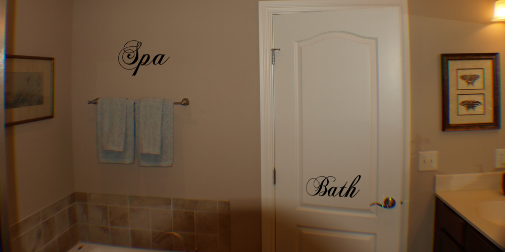 Room Labels Wall Decal