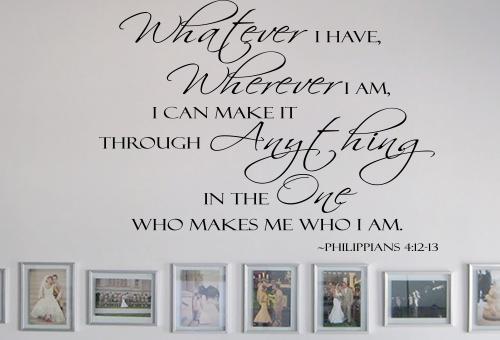 Whatever I Have, Wherever I Am