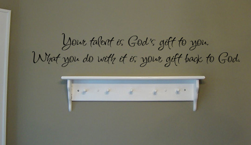 Your Talent Wall Decal